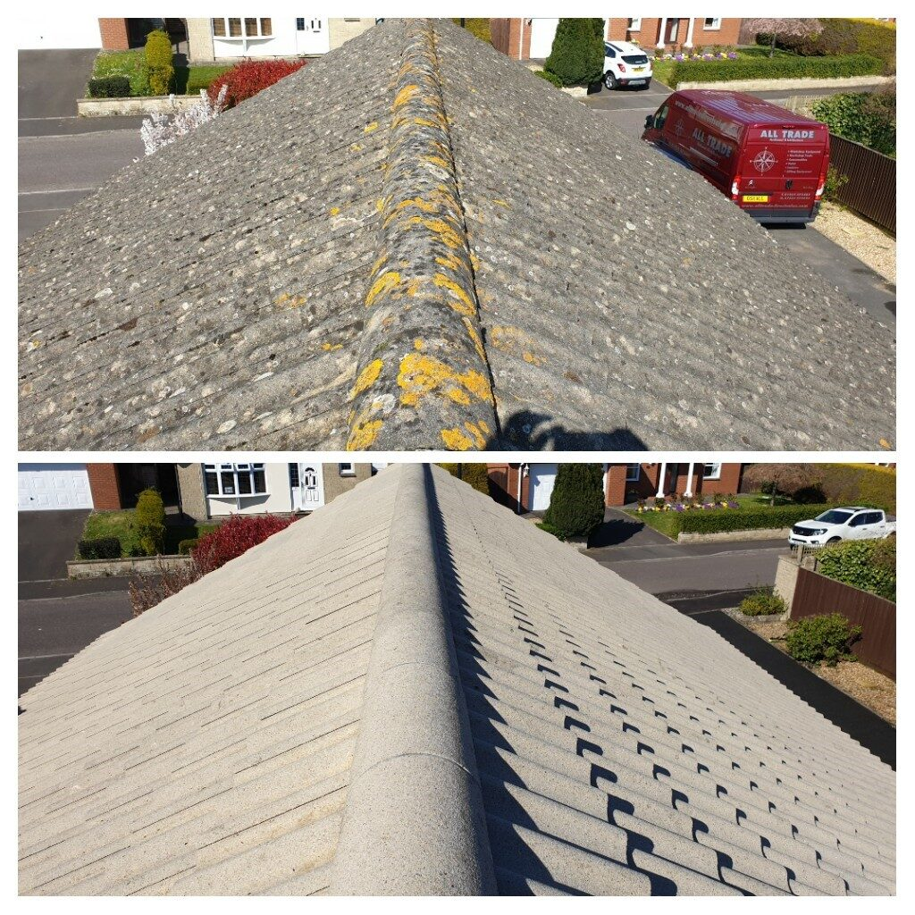 all trade roof cleaning